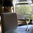 昼のワイン